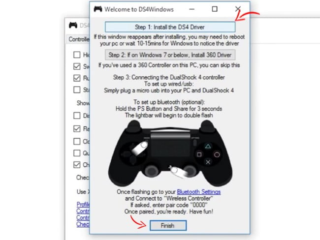 how to use ps4 dualshock