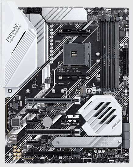 Asus Prime X570-P - A best White Gaming Motherboard