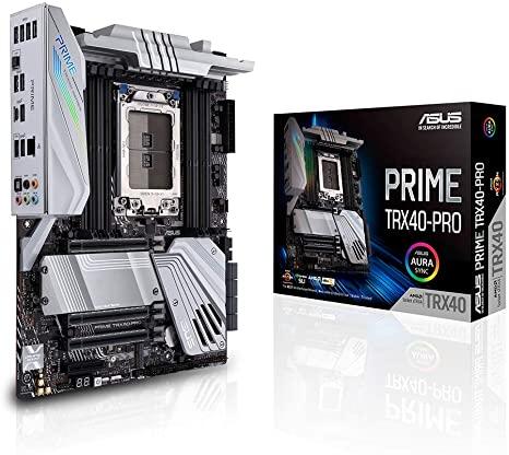 Asus prime TRX40 Pro - best white motherboard