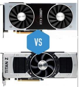 GTX Titan z vs 2080 ti
