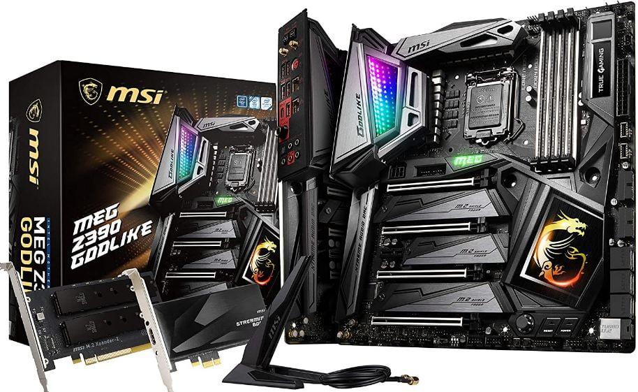 MSI MEG Z390 GODLIKE best motherboard for i7 9700k