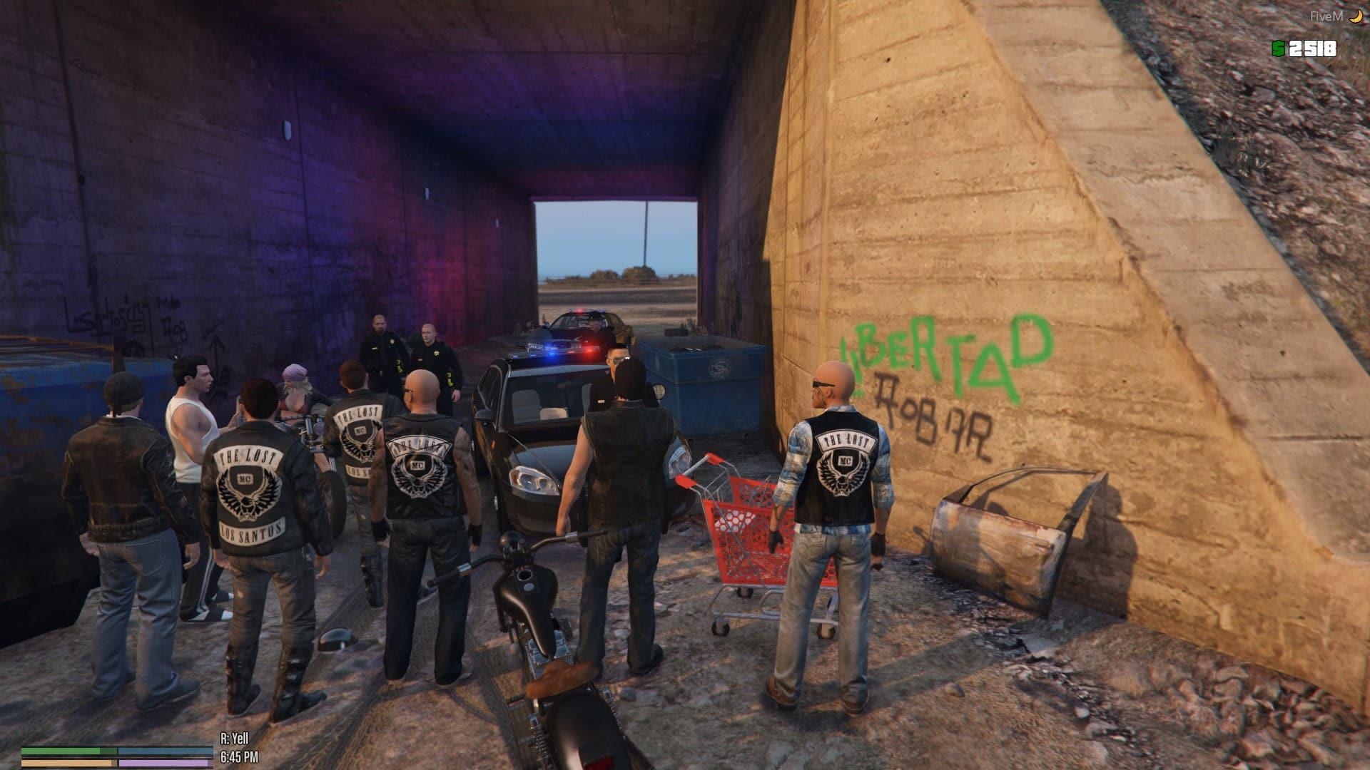 Gangstar squad in GTA