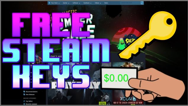 How to get free steam keys