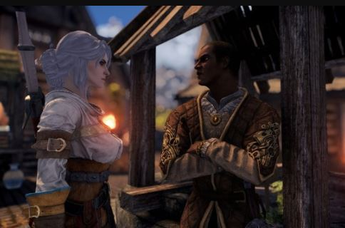 Ciri in skyrim