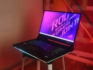 ASUS ROG Strix Scar 15 - Gaming laptop for cyberpunk 2077
