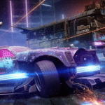 Cyberpunk armored vehicles burst into Crossout