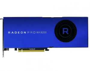AMD Radeon Pro WX 8200 Graphics Card for Editing and Rendering