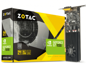 ZOTAC GeForce GT 1030 Graphics Card for Video Editing