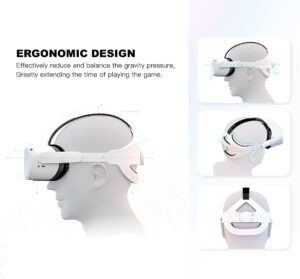 CNBEYOUNG Adjustable VR Headset for Gaming