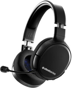 SteelSeries Arctis 1 Wireless Gaming Headset for Playstation – USB-C Wireless – Detachable ClearCast Microphone – for PS5, PS4, PC, Nintendo Switch, Android